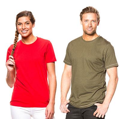 Din tekst & billede på T-Shirts